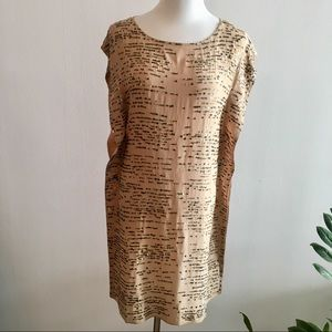 Calypso St Barth Sequin Silk Tunic Dress